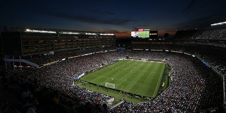 2017 Gold Cup Final will be held at Levi's Stadium in California
