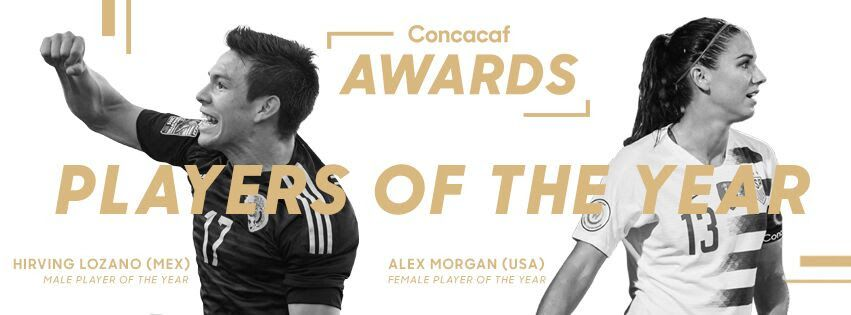 Concacaf Announces 2018 Winners!