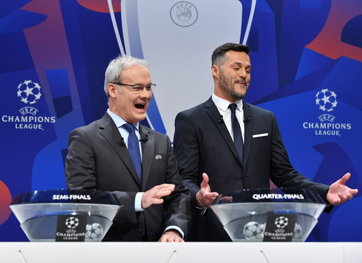 UEFA Champions League quarter-final, semi-final and final draws